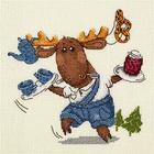 Набор для вышивания Кларт 8-236 «Вам чай с вареньем?»
