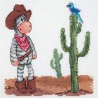 Набор для вышивания Кларт 8-253 «Дикий запад»