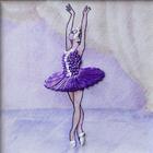 Набор для вышивания лентами Woman-Hobby ВЛБС 0002 «Серия Балерины» 13,5*13,5 см