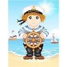 Набор для вышивания М.П.Студия КH-456 «Морская мечта» 16*21 см
