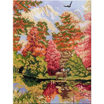 Набор для вышивания М.П.Студия НВ-263 «Триптих Животные» 2 часть 28*38 см в интернет-магазине Швейпрофи.рф