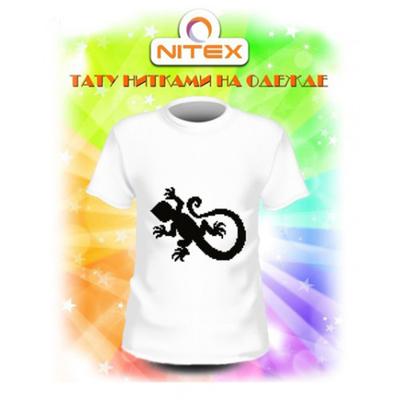 Набор для вышивания Нитекс 7015 «Ящерка» на одежду 13*10 см в интернет-магазине Швейпрофи.рф