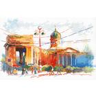 Набор для вышивания Овен №1004 «Казанский собор» 18*28 см