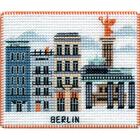 Набор для вышивания Овен №1057 «Столицы мира. Берлин» 9*8 см