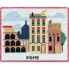 Набор для вышивания Овен №1068 «Столицы мира. Рим» 9*8 см