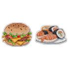 Набор для вышивания Овен №1102 «Приятного аппетита-1» магнит 10*5 см и 8*6 см
