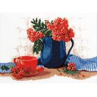 Набор для вышивания Овен №259 «Натюрморт с рябиной» 30*40 см