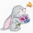 Набор для вышивания Овен №980 «Зайчонок» 15*15 см
