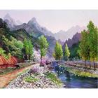 Набор для раскрашивания Molly GX 4589/1 «Весна в горах»