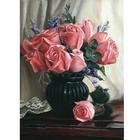 Набор для раскрашивания Molly KH0052  «Розы» 15*20 см