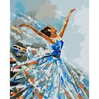 Набор для раскрашивания Цветной хамелеон J001 «Балерина»