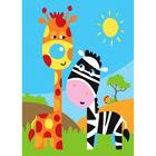 Набор для раскрашивания Цветной хамелеон МА1004 «Жирафы»
