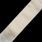 Резинка 80 мм  (рул. 25 м) белый