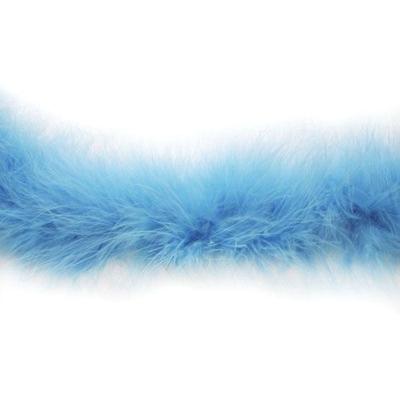 Боа-пух (20 г) 2985 голубой в интернет-магазине Швейпрофи.рф
