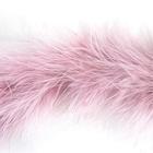 Боа-пух (20 г) розовый