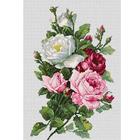 Набор для вышивания Luca-S ВA22855 «Букет из роз» 33,5*21,5 см