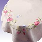 Набор для вышивания VERVACO 0021750-PN Скатерть «Розовые цветы» 80*80 см