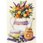 Набор для вышивания Золотое руно СЖ-053 «Лаванда и мед» 38,5*27 см