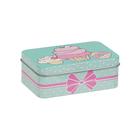 Коробка MSB-03 02 «Пирожные» для мелочей металл 12*7,5*4,3см