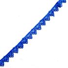 Кружево гипюр  15 мм Р2 (уп.13,71м) т.синий