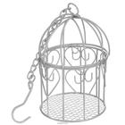 Декор SCB271029 Металл клетка круглая с цепочкой д.8*12,5*27см 7713848