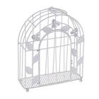 Декор SCB271041 Металл клетка прямоугольная с дверцей 15*5*26 см