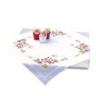 Набор для вышивания VERVACO 0021573-PN Скатерть «Весенние цветы» 80*80 см