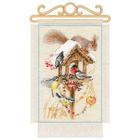 Набор для вышивания Риолис №1751 «Дача. Зима» 20*30 см