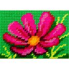 Набор для вышивания с пряжей BAMBINI  X2152 «Космея» 10*14 см