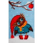 Набор для вышивания с пряжей BAMBINI  X2316 «Совенок» 15*25 см
