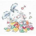 Набор для вышивания Чудесная Игла №19-07 «Утопаю в любви» 12*13 см