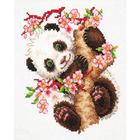 Набор для вышивания Чудесная Игла №19-26 «Панда» 15*18 см