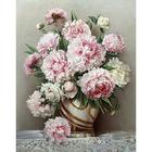 Набор для раскрашивания Molly GX 4740 «Розовые пионы»