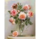 Набор для раскрашивания Molly GX 4741 «Бузинин. Розы в вазе»