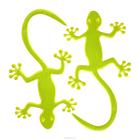 Светоотражающие наклейки на одежду 0165-2001 «Ящерица» уп.2 шт. 7714892 жёлтый