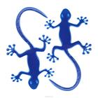 Светоотражающие наклейки на одежду 0165-2001 «Ящерица» уп.2 шт. 7714892 синий