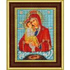 Рамка для икон Кроше №23-Д «Почаевская» (В-170) со стеклом