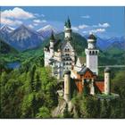 Рисунок на канве Гелиос П-075 «Замок» 43,5*43,5 см