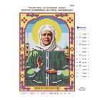 Рисунок на полотне (12*17 см) 5122 «Св. Бл. Матрона Московская»