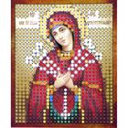 Рисунок на полотне 6*7 см М-008 «Семистрельная Богородица»