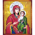 Рисунок на полотне 6*7 см М-010 «Иверская Богородица»