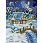 Рисунок на полотне А3 E-0394 «Рождественские чудеса» 29*39 см
