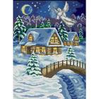 Рисунок на полотне А3 E-0394 «Рождественские чудеса»