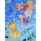 Рисунок на полотне А3 E-3019 «Золотые рыбки 3» 29*39 см