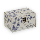 Шкатулка DBK-010 «Сундучок Синие бабочки» 18*12*10 см