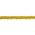 Шнур мебел. без ресниц 6 мм (уп. 25 м) золото св.
