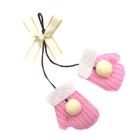 Элемент пришивной Г14838 «Бантик с варежками» 513 розовый