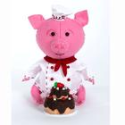 Набор для шитья Кукла Перловка из фетра ПФЗД-1011 «Поросенок Пекарь» 15,5 см