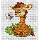 Набор для вышивания Luca-S В044 Моя первая вышивка «Жираф»