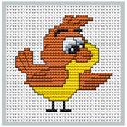 Набор для вышивания Luca-S В085 Моя первая вышивка «Птичка»